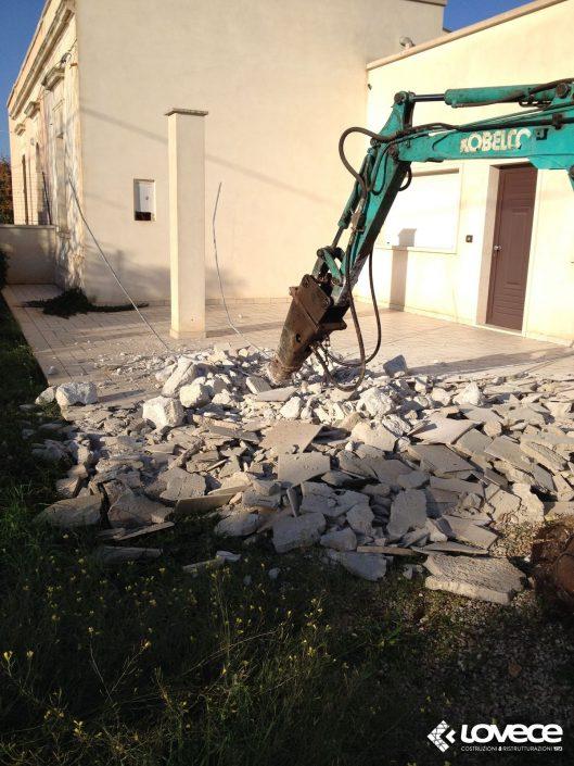 Lovece srl - Riqualificazione villetta